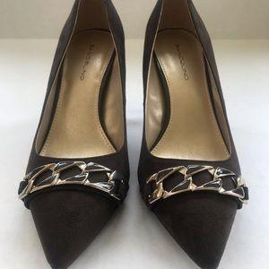 Bandolino Shoes - Chocolate brown Bandalino faux suede pumps